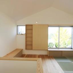 建坪14坪の白い家 えん木のいい家 建築工房en